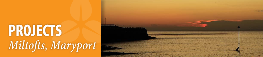 Projects MM Maryport Harbour Sunset